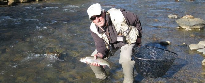 Handling and Releasing Trout